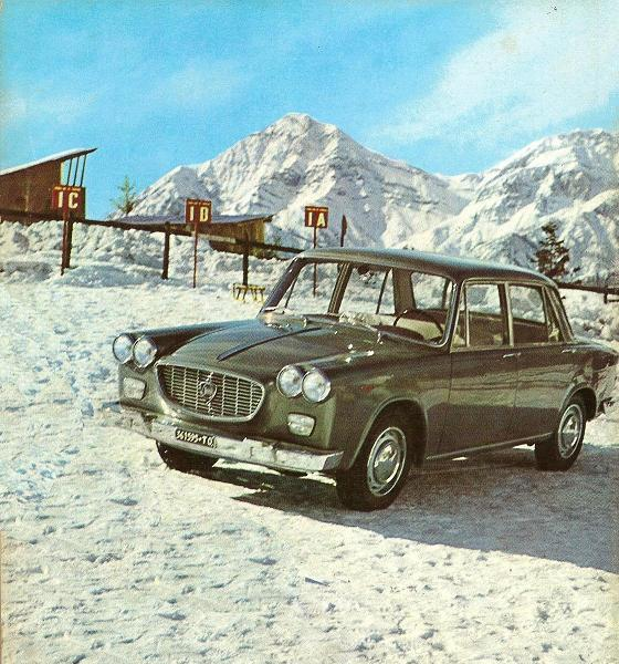 60 de ani de la primul automobil italian cu tracțiune față