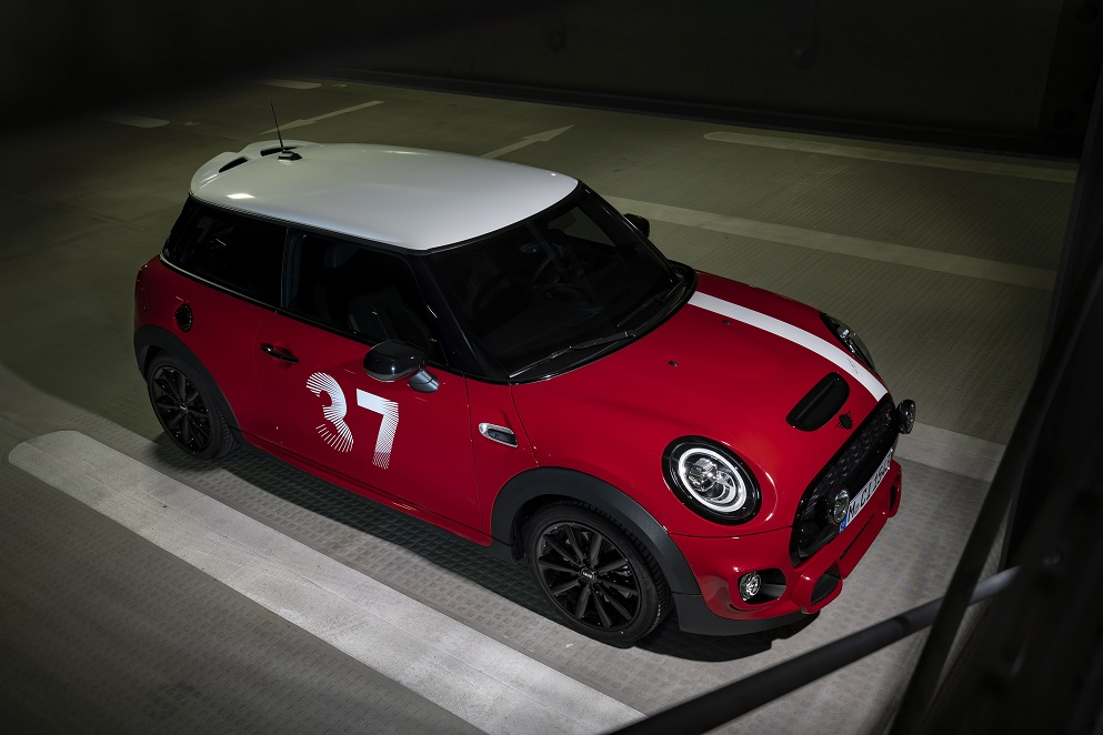 Numărul 37 revine pe linia de start - MINI Paddy Hopkirk Edition