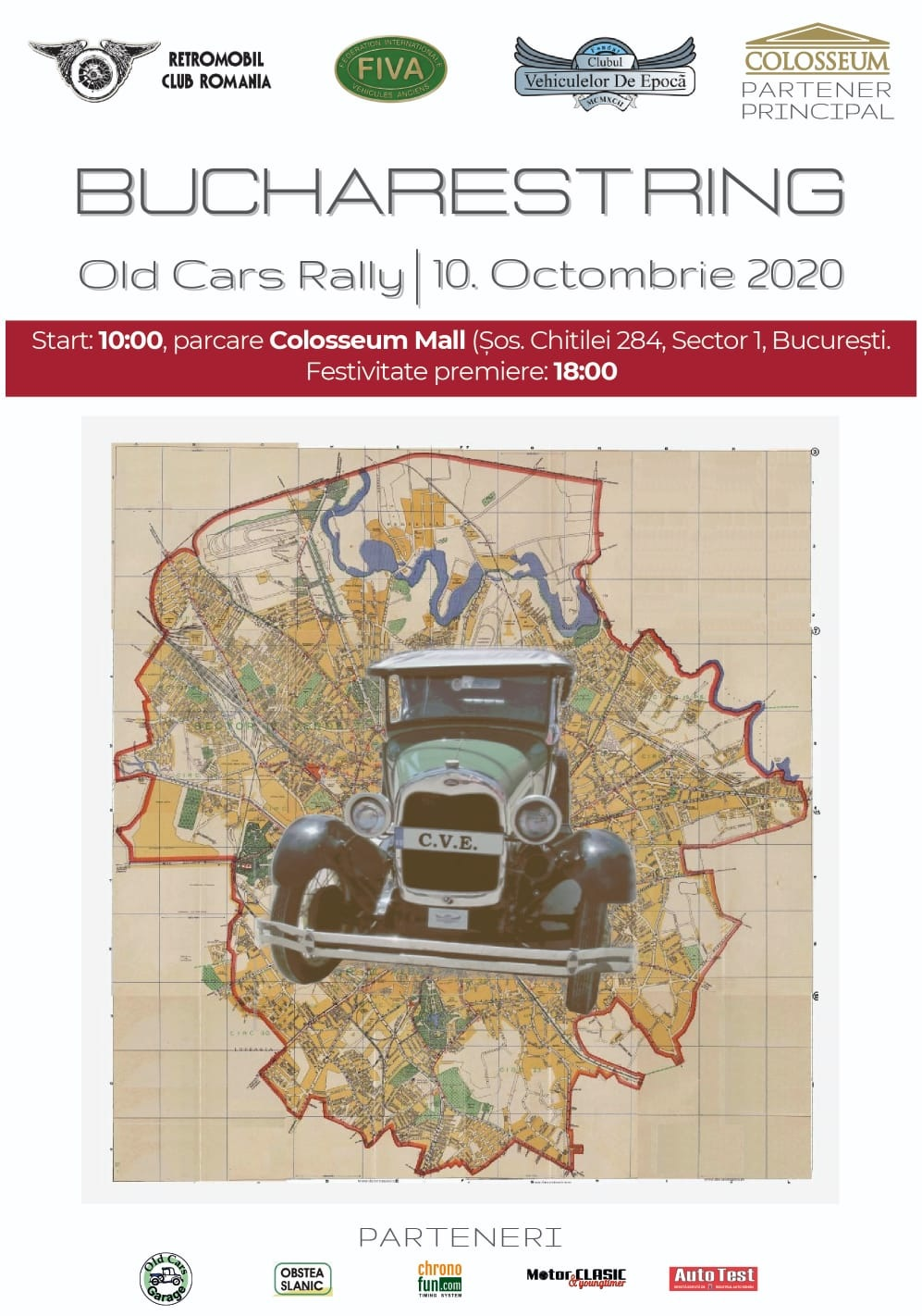 Bucharest Ring – Old Cars Rally, 10 octombrie
