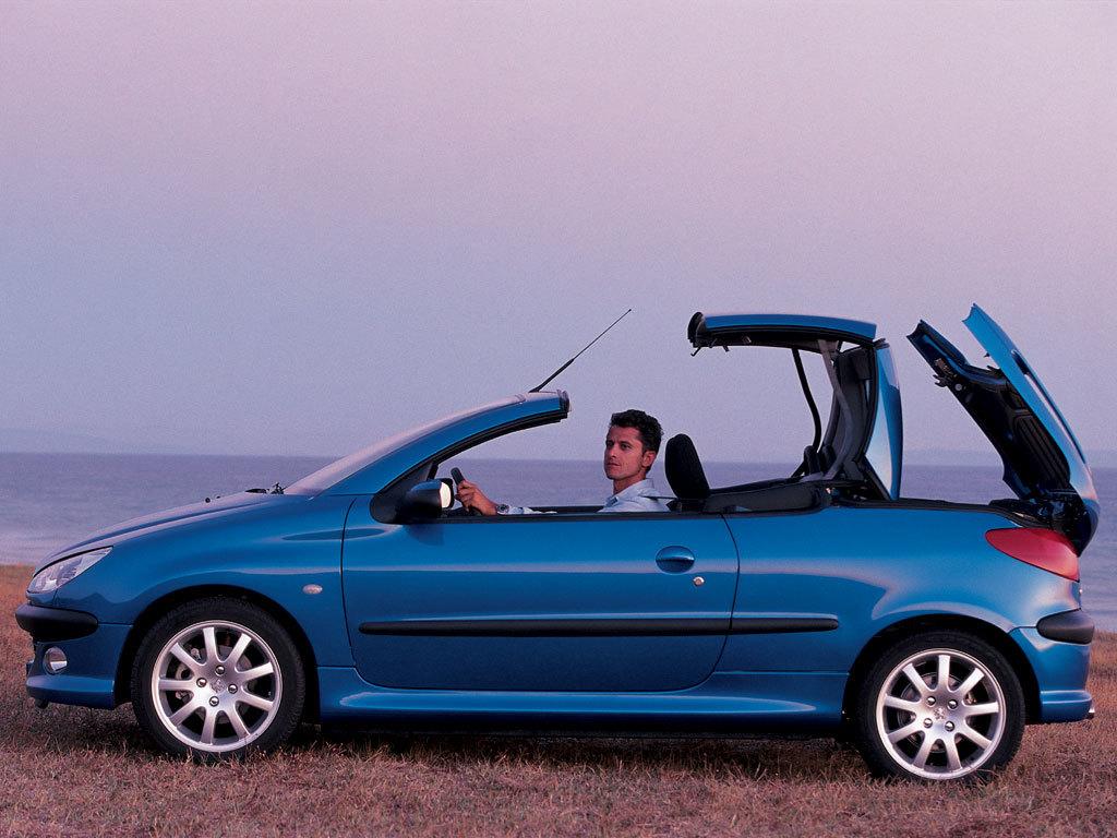 Peugeot 206 CC - 20 de ani de caroserie Coupe Cabriolet