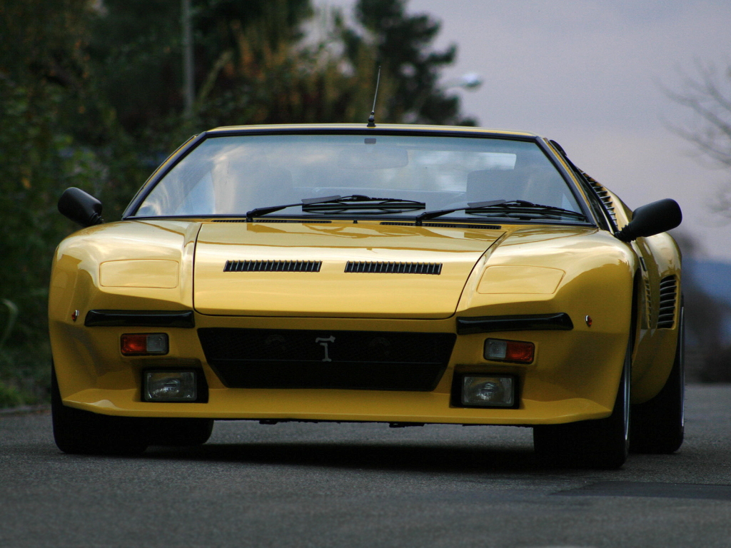 Jumătate de secol de la debutul supercarului De Tomaso Pantera