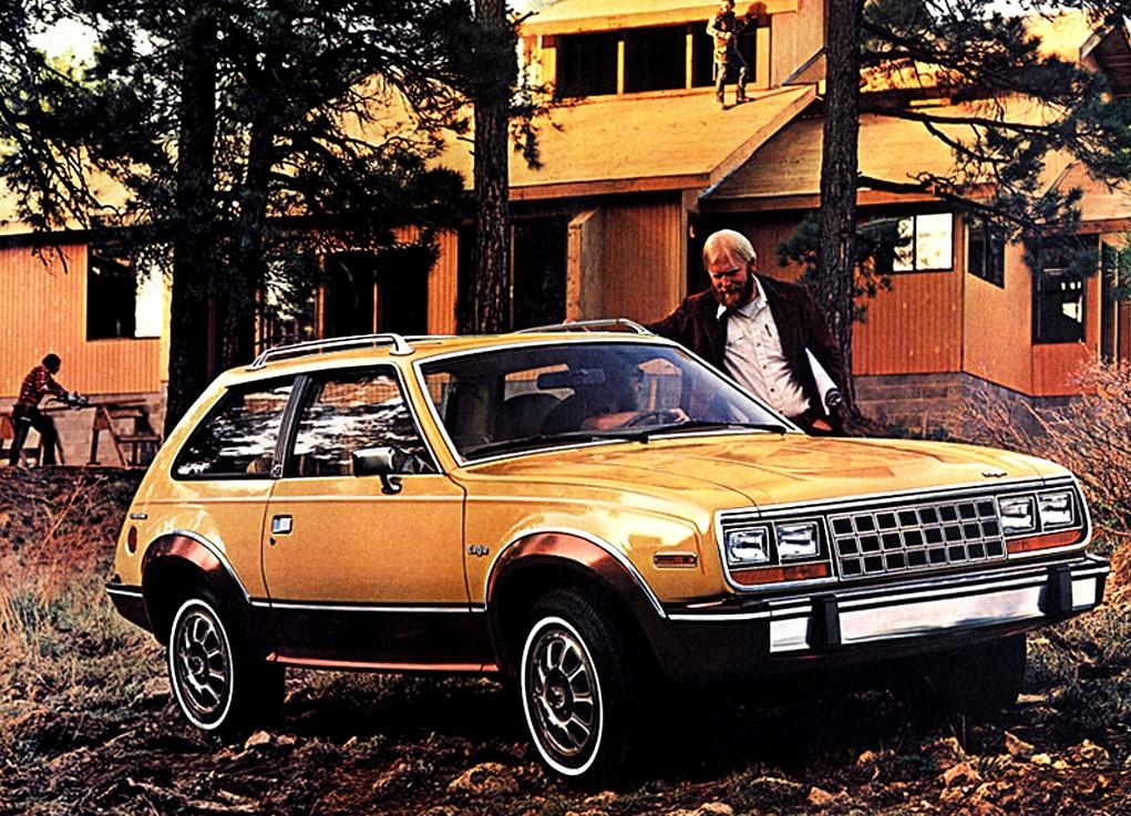 AMC Eagle considerat ca prim crossover a debutat acum 40 de ani