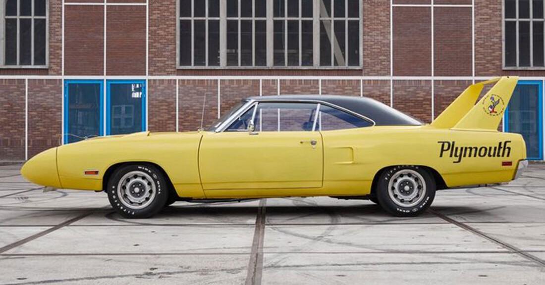 Un foarte rar Plymouth Superbird scos la vânzare prin casa de licitații Catawiki