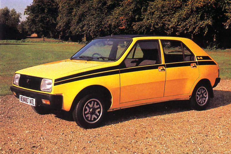 Primul model compact R14 de la Renault a serbat 45 de ani
