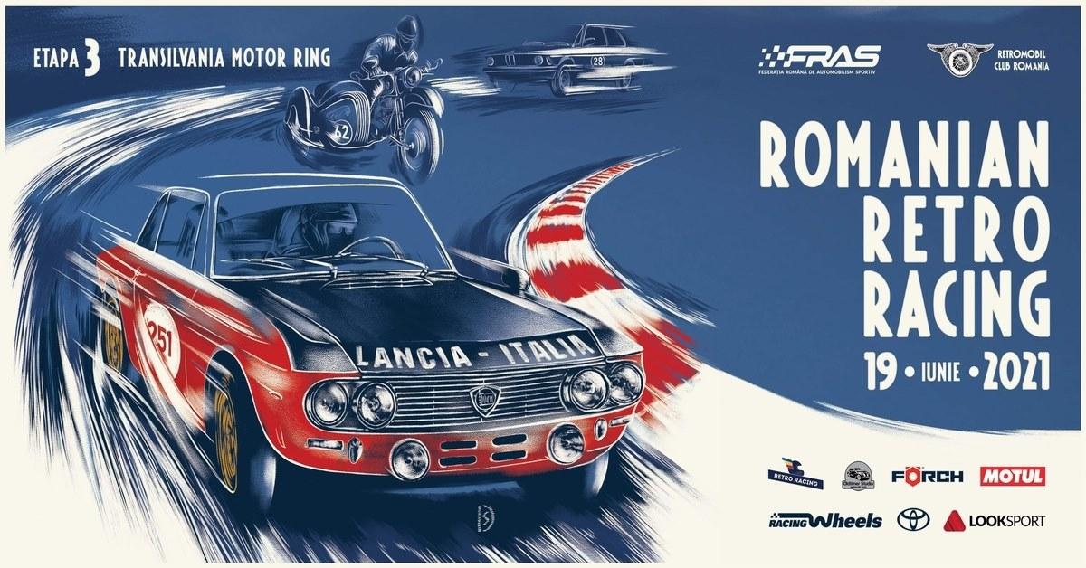 Romanian Retro Racing – Campionatul de Regularitate si Viteza pe Circuit – Etapa III