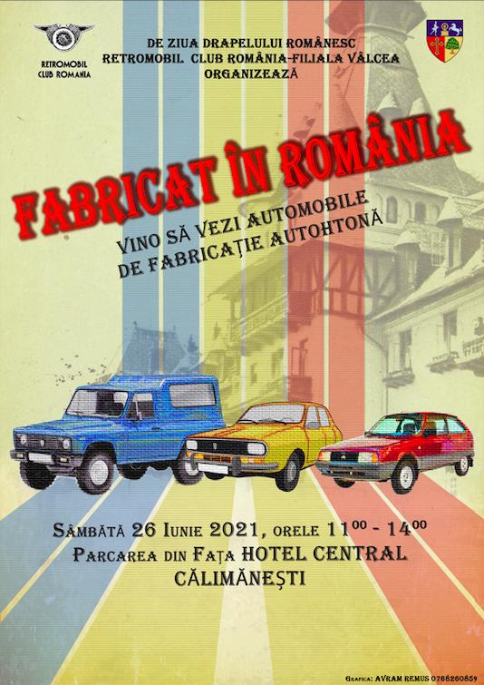 """Fabricat in Romania"" – Filiala RCR Valcea"