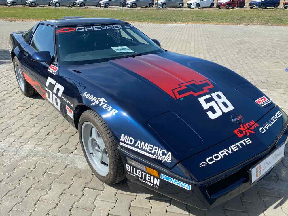 1988 Chevrolet Corvette Challenge Race Car
