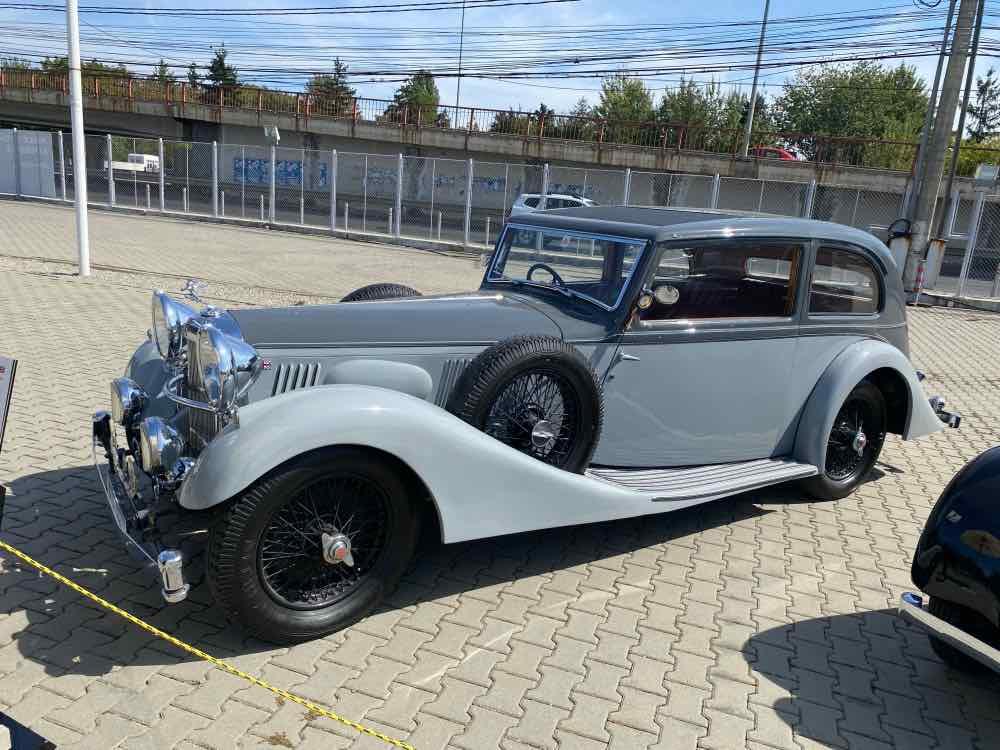 1937 Alvis Speed Twenty Five 4.3 Litre