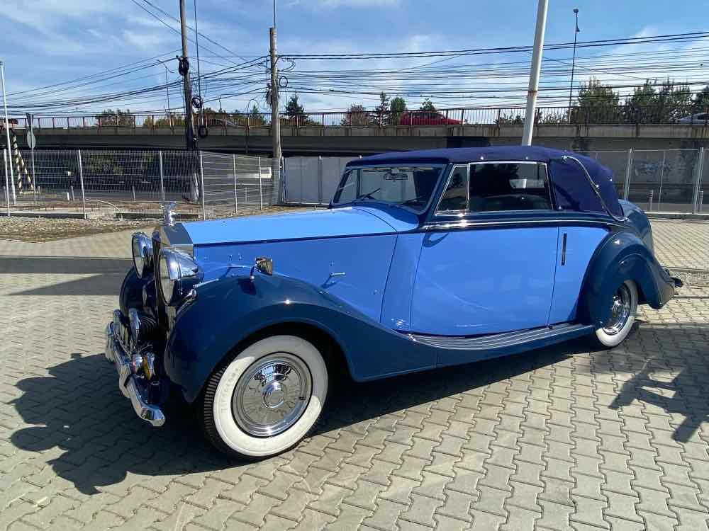 1949 Rolls-Royce Silver Wraith by Hooper