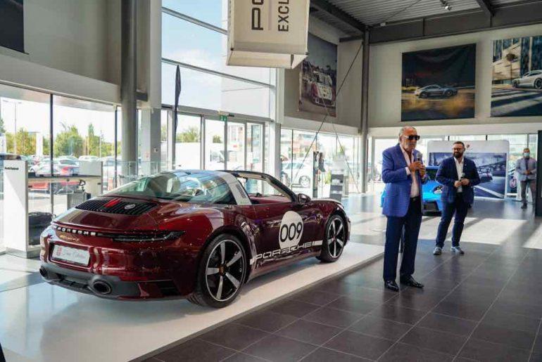 Porsche 911 Targa 4S Heritage Design Edition Tiriac Collection